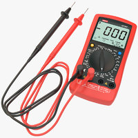 3D multimeter ut107 model