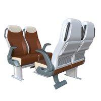3D iveco bus seats