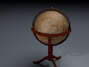 3D globe bar