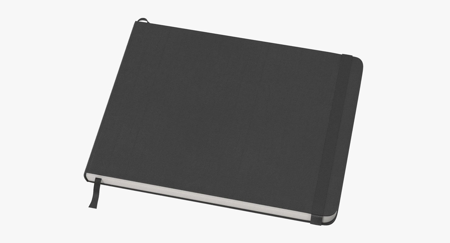 moleskine sketchbooks 03 01 3D