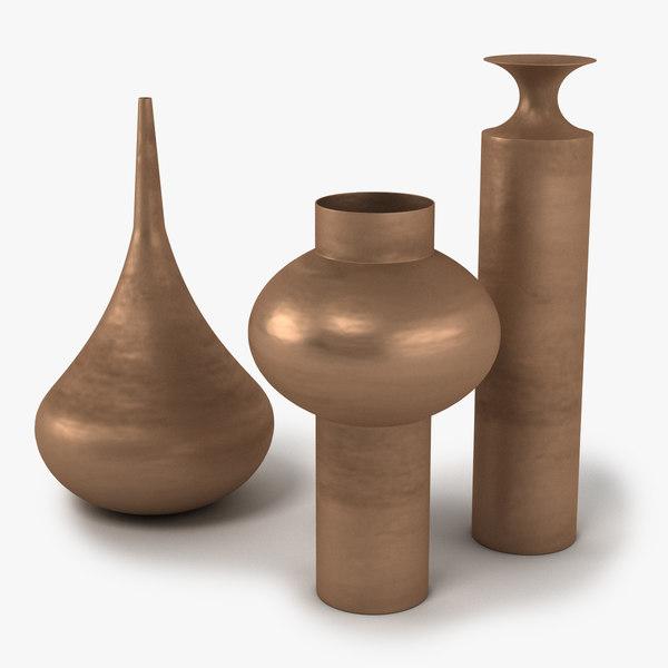 dixon beat vessels 3D model