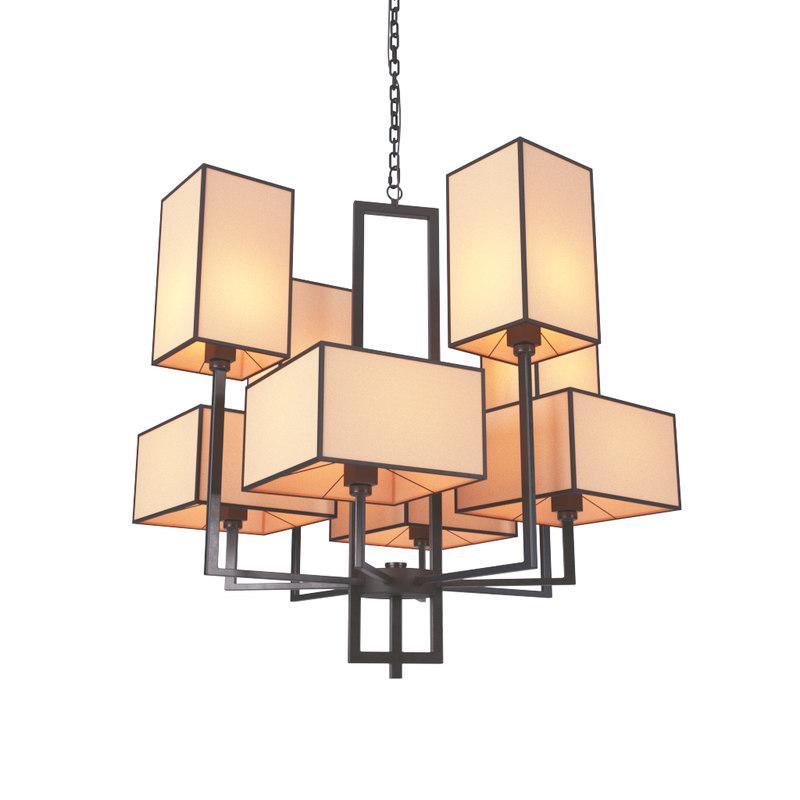 loft chandelier cubismus 8 model