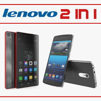 lenovo cellphones 3D model