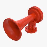 3D air horn 02
