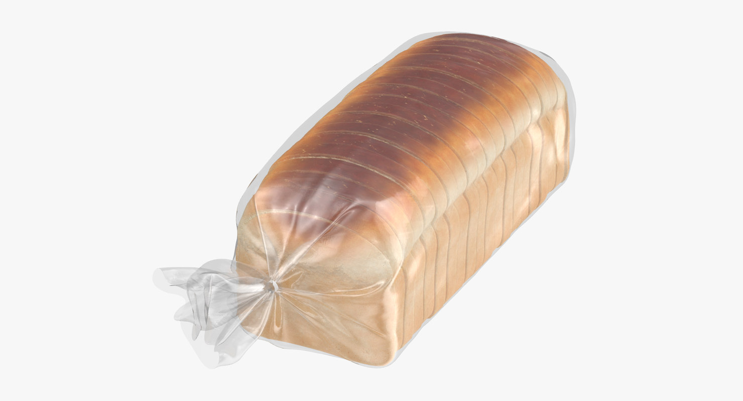 3D sliced bread bag