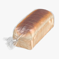 3D sliced bread bag