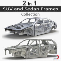 SUV and Sedan Frames Collection