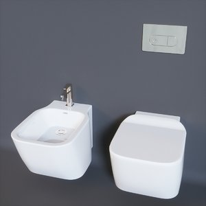 essence-c bowl bidet 3D model