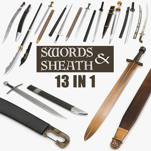 3D swords sheath