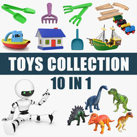 toys set small 3D