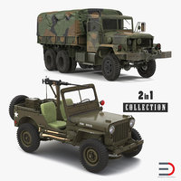 US WWII Vehicles Collection