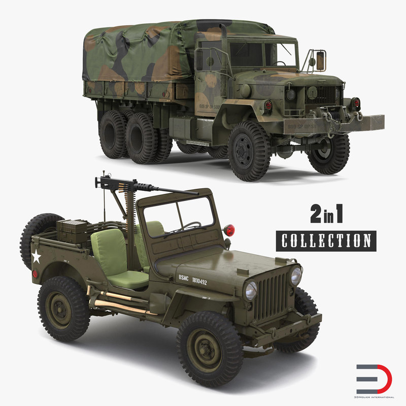 3D wwii vehicles