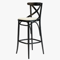 Thonet Barstool 150  Black