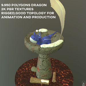 dragon evolution 3D model