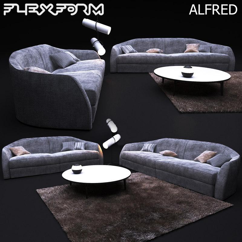3D alfred model
