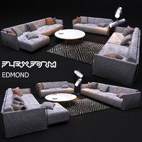 flexform edmond 3D model