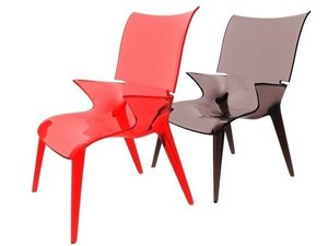 3D kartell uncle jim chair