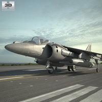 3D mcdonnell douglas av-8b model