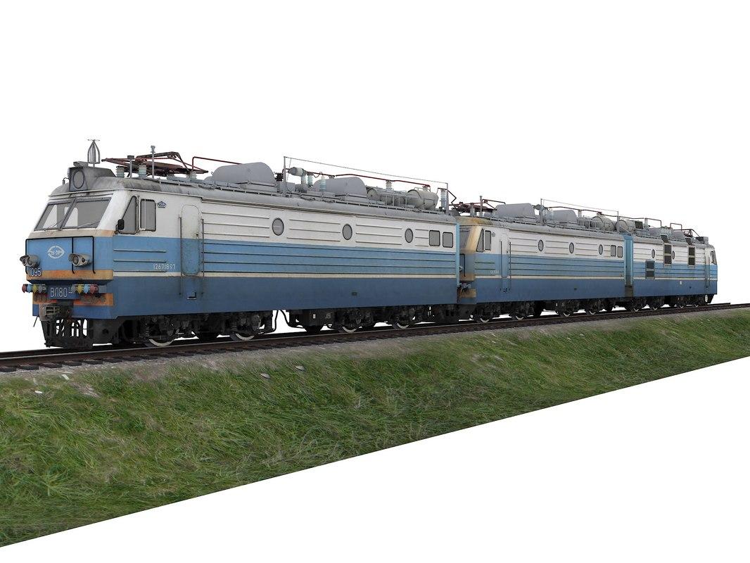 locomotive vl80tk 3D