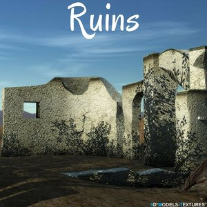 3D ruin