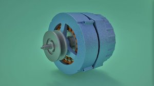 3D alternator dc generator