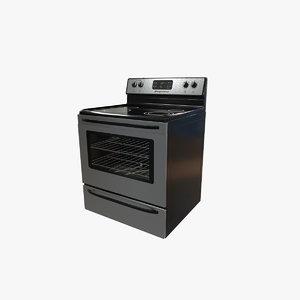 frigidaire stove 3D model