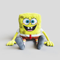 soft toy spongebob squarepants 3D model