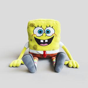 soft toy spongebob squarepants 3D model