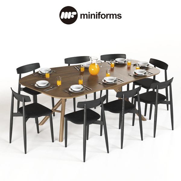 3D table miniforms otto chair