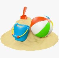 sand toys model