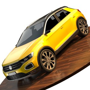volkswagen t-roc 3D model