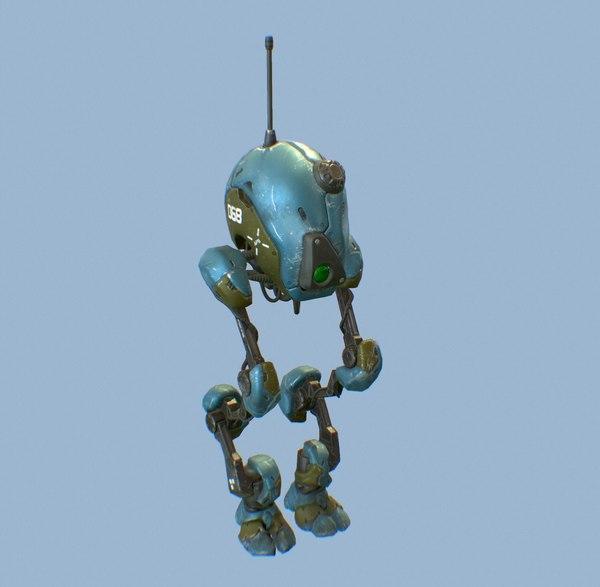 3D dron model