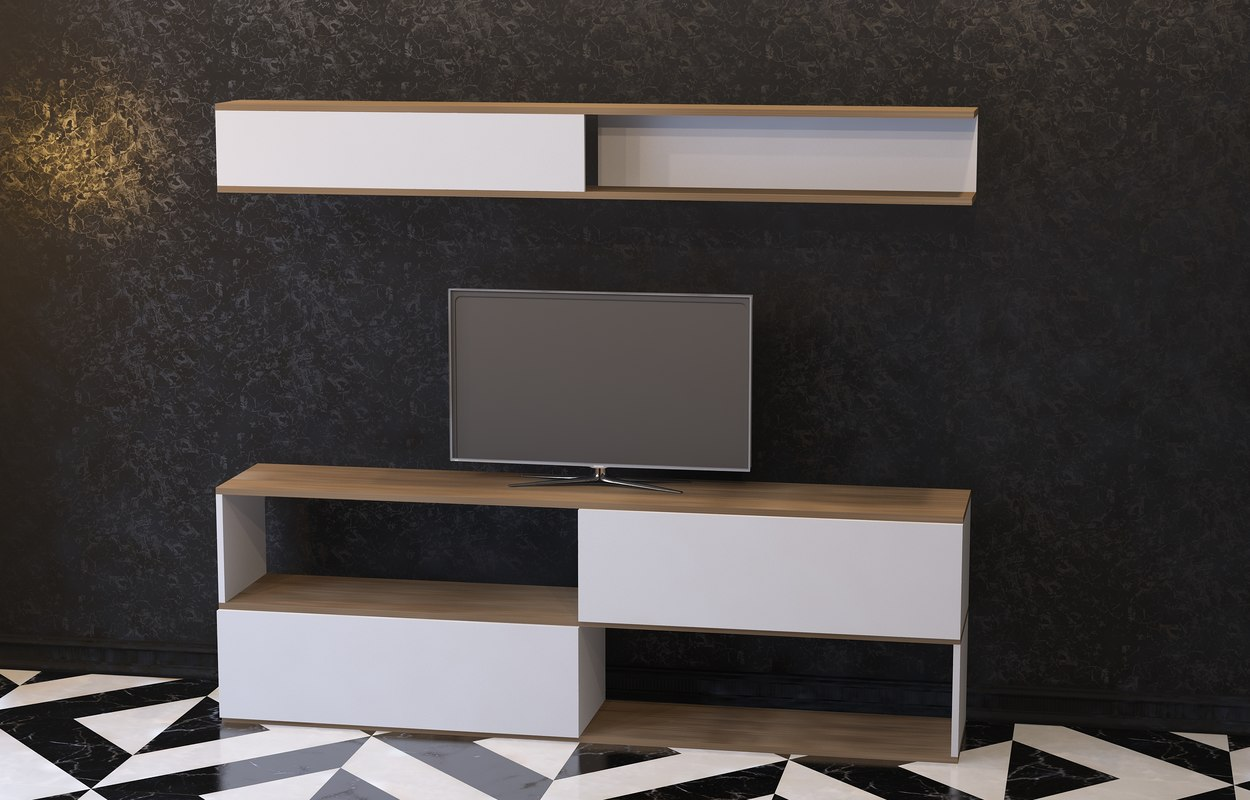 3D tv stand
