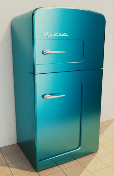 3D fridge big chill