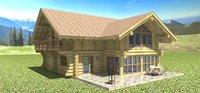 3D blockhouse