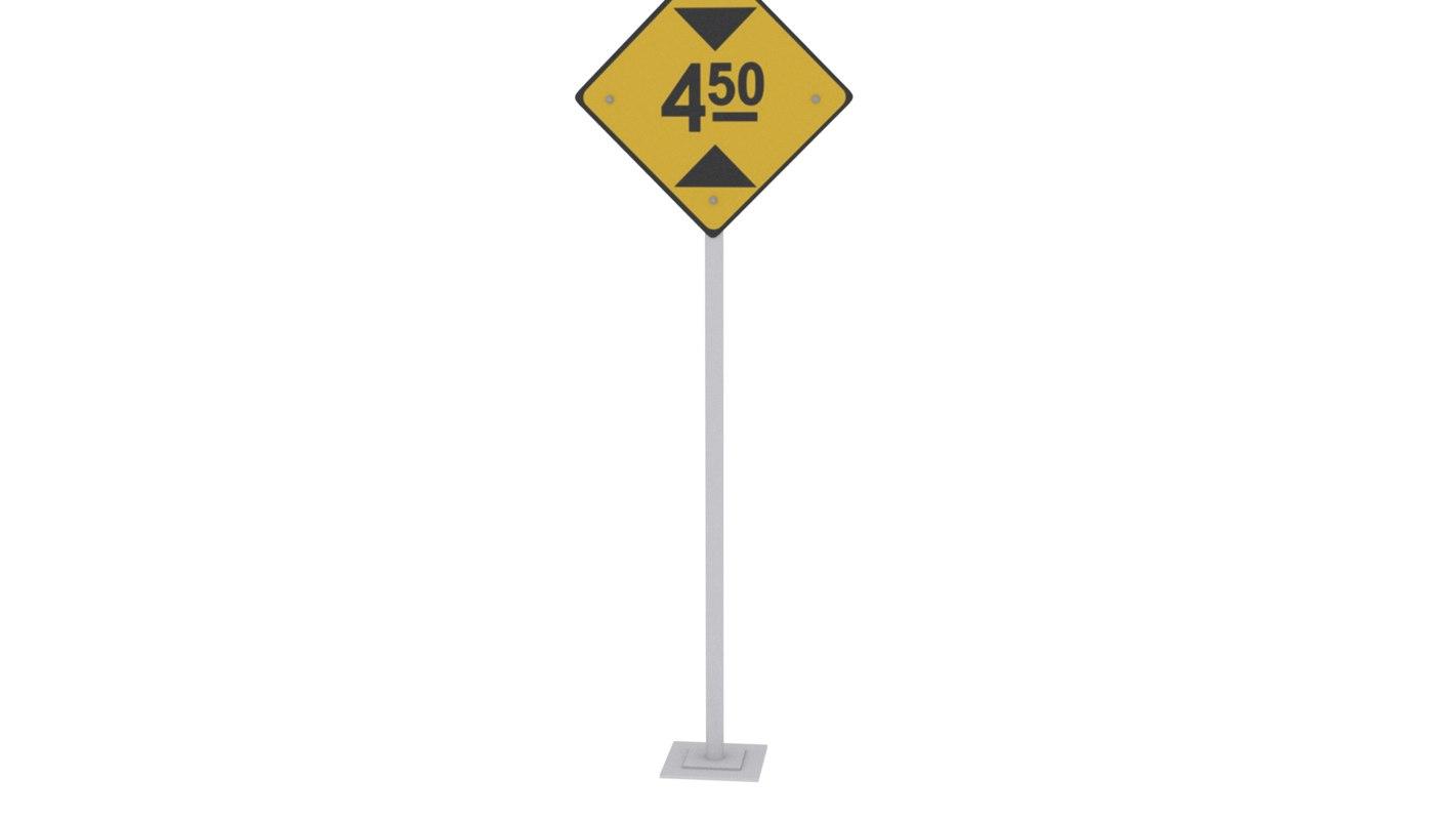 3D 4 5 meters height