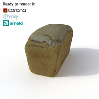 bread photogrammetry arnold model