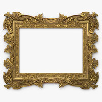Antique Baroque Picture Frame