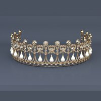 crown tiara 3D model