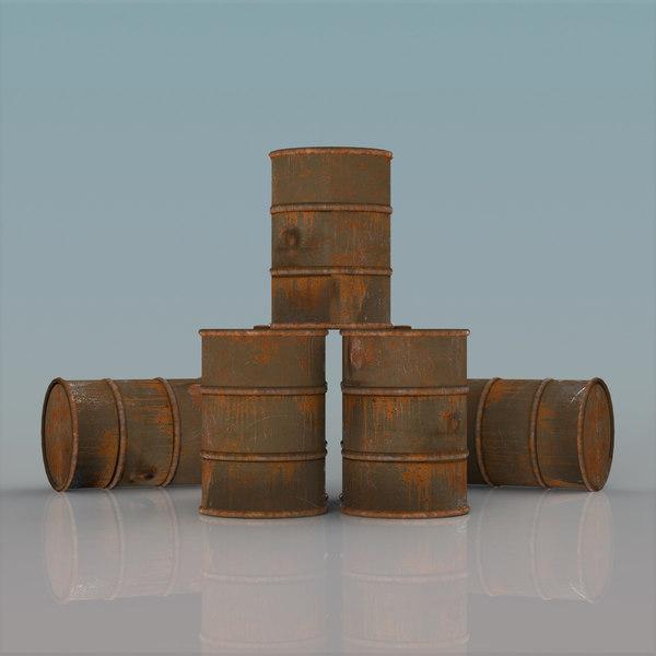 barrel set 3D