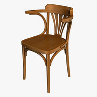 vienna chair 3D model