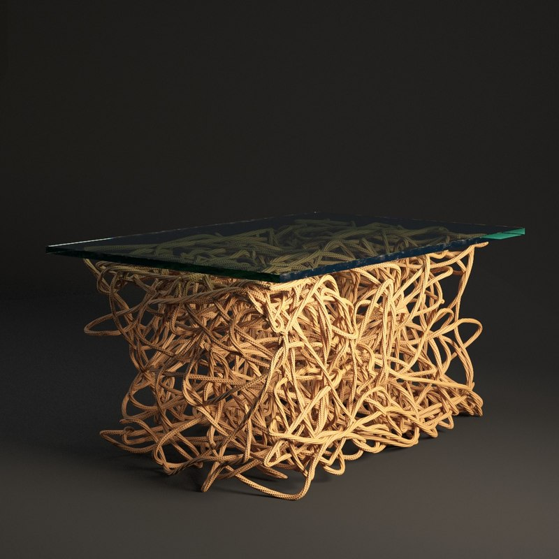3D table rope