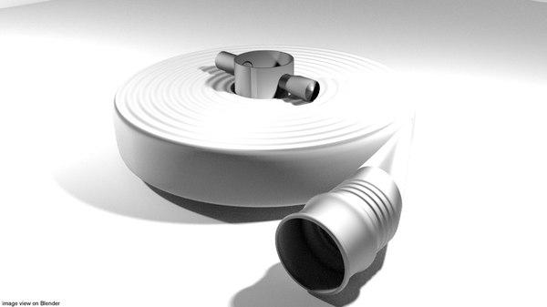 3D hose model
