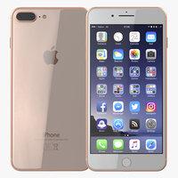 3D iphone 8 phone