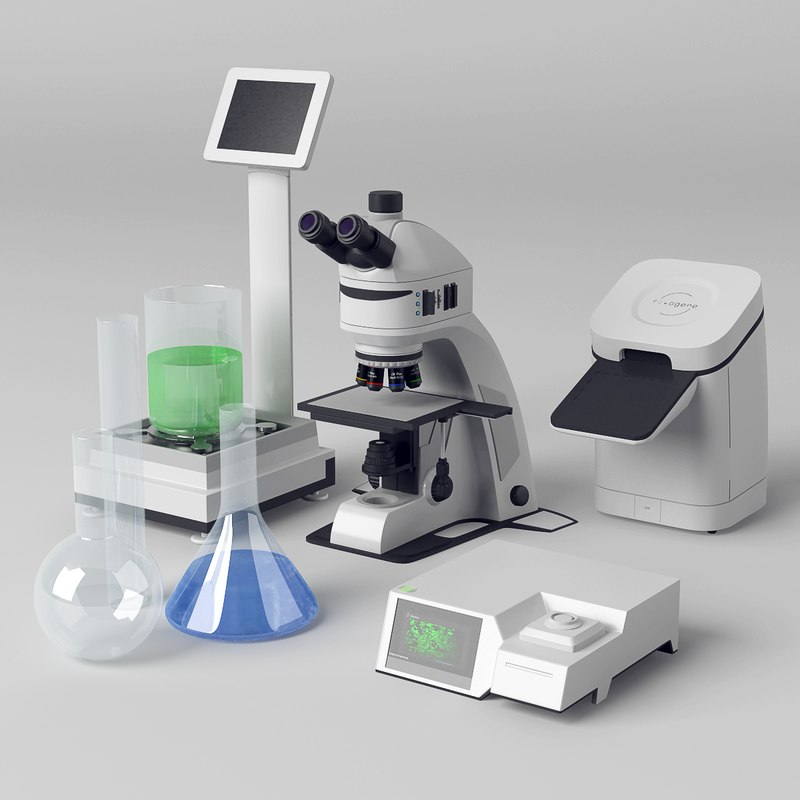 3D medical microscope cell
