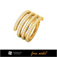 3D ring jewel fre