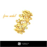3D CAD Ring - Free 3D Model