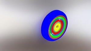 modeled decor 3D model