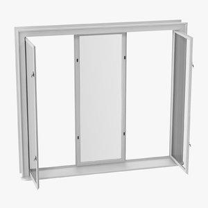 3D classic windows 01 open