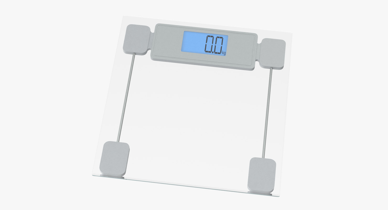 3D personal scale 02 model